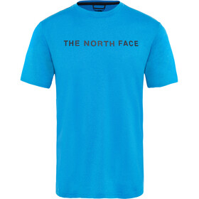 The North Face Train N Logo Hardloopshirt korte mouwen Heren blauw